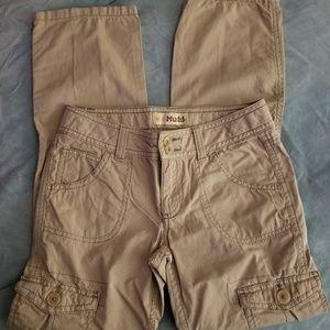 Mudd-Girls 10 tan cargo pants